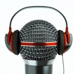 WordPress podcasting logo