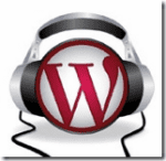 The WordPress podcast logo