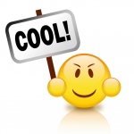 Cool emoticon