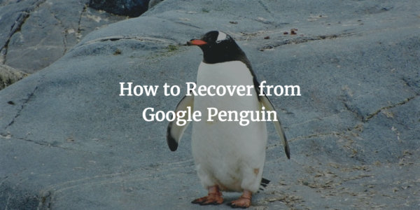 How to Recover from Google Penguin