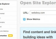 Link Opportunities in OpenSiteExplorer