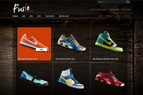 scarpe casual tecnologie sofisticate boutique outlet Website Designs for Shoe and Shoelace Stores