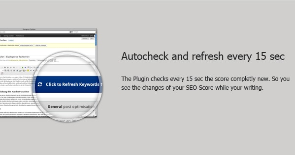 autocheck and refresh