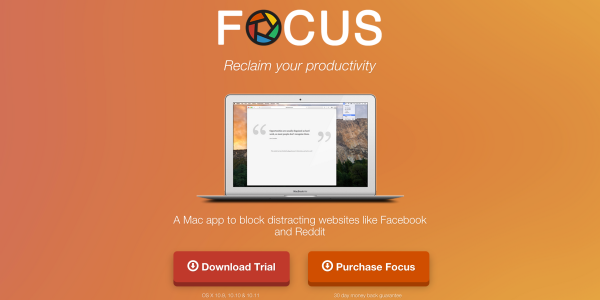 Focus app video review