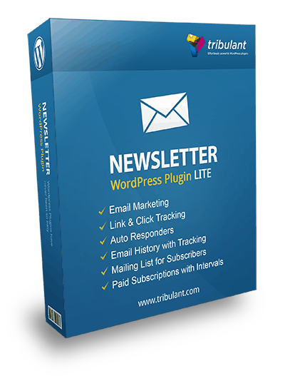WordPress Newsletter Plugin - Lite