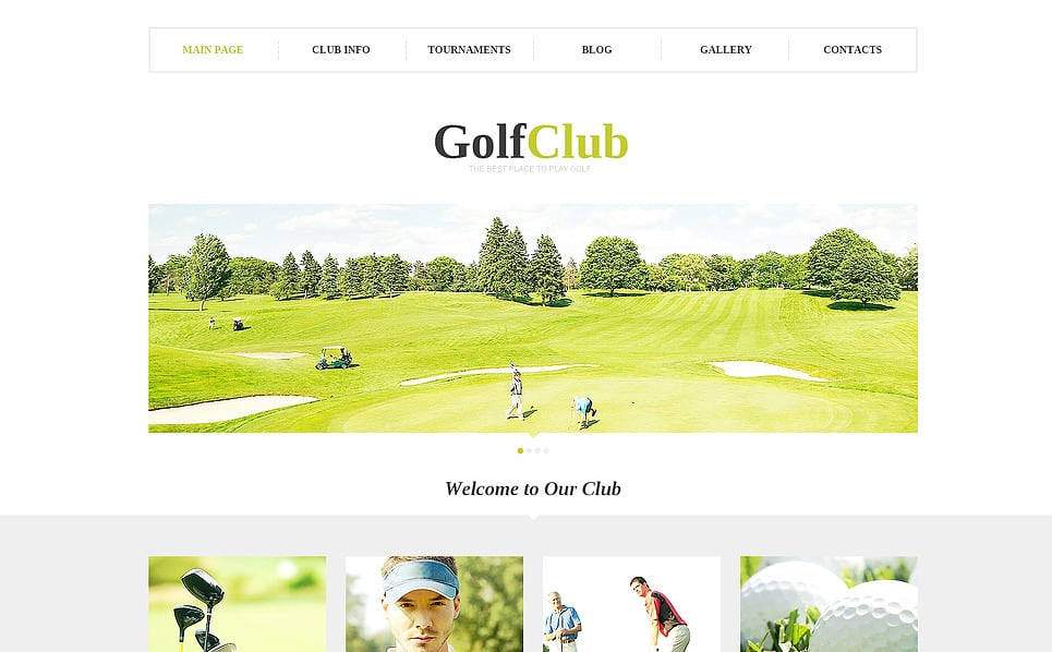 Golf Website Designs