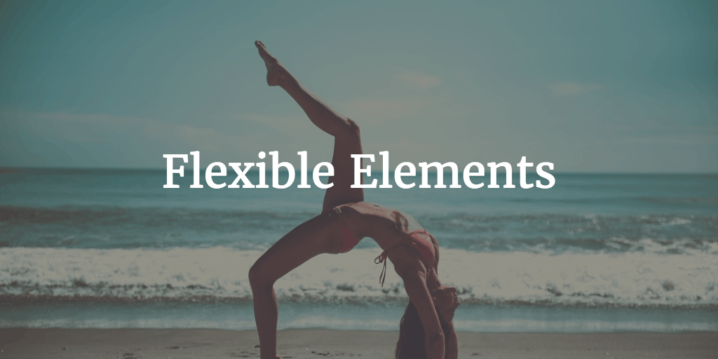 Flexible elements Carlos Moreira