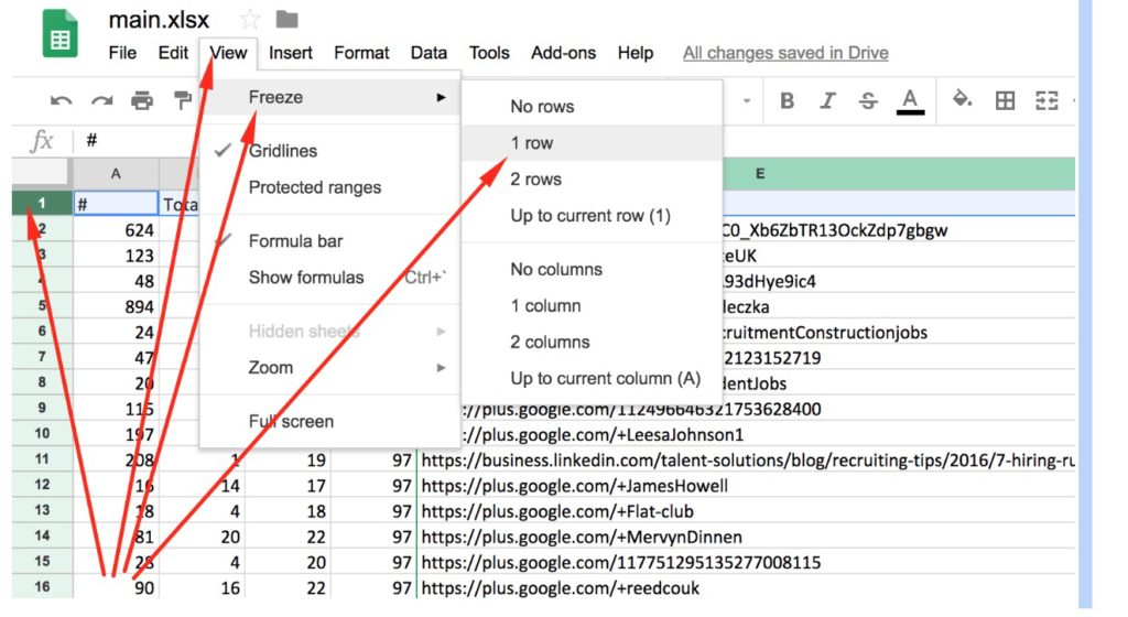 Delete Duplicate Domains - How to Do That in Google Sheets
